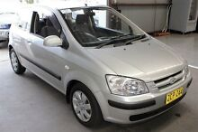 2003 Hyundai Getz TB GL Blue 4 Speed Automatic Hatchback Maryville Newcastle Area Preview