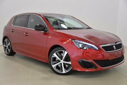 2015 Peugeot 308 T9 GTI 250 Red 6 Speed Manual Hatchback