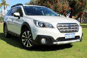 2015 Subaru Outback B6A MY15 2.5i CVT AWD Premium White 6 Speed Constant Variable Wagon Victoria Park Victoria Park Area Preview