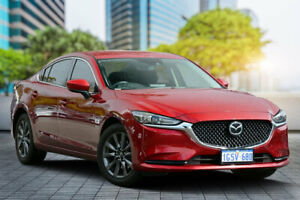 2018 Mazda 6 GL1032 Sport SKYACTIV-Drive Soul Red Crystal 6 Speed Sports Automatic Sedan Bayswater Bayswater Area Preview