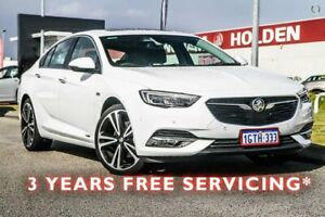 2018 Holden Calais ZB MY18 V Liftback AWD White 9 Speed Sports Automatic Liftback Rockingham Rockingham Area Preview