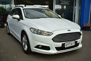 2015 Ford Mondeo MD Ambiente SelectShift White 6 Speed Sports Automatic Wagon Liverpool Liverpool Area Preview