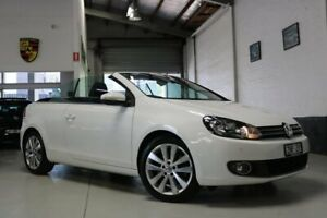 2011 Volkswagen Golf VI MY12 118TSI DSG White 7 Speed Sports Automatic Dual Clutch Cabriolet West Melbourne Melbourne City Preview