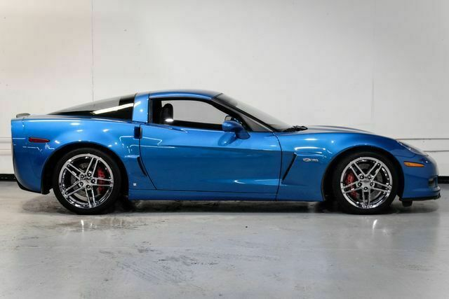 2008 Blue Chevrolet Corvette Z06  | C6 Corvette Photo 5