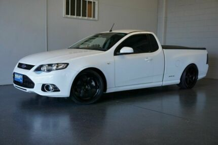 2012 Ford Falcon FG MK2 XR6T Limited Edition White 6 Speed Manual Utility