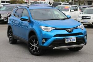 2016 Toyota RAV4 ASA44R GXL AWD Blue Gem 6 Speed Sports Automatic Wagon Northbridge Perth City Area Preview