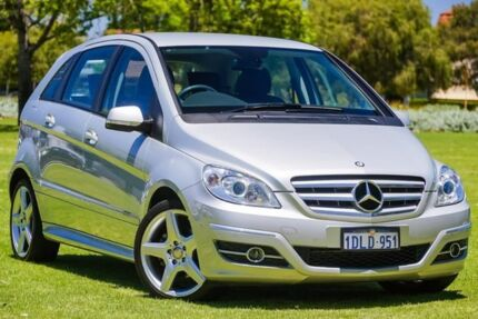 2010 Mercedes-Benz B200 W245 MY11 Turbo Silver 7 Speed Constant Variable Hatchback