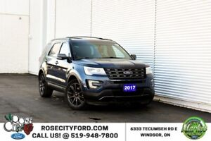 2017 Ford Explorer XLT / 4x4 / Accident Free / Leather Heated /
