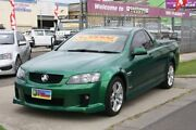 2010 Holden Ute VE MY10 SV6 Green 6 Speed Sports Automatic Utility Altona North Hobsons Bay Area Preview
