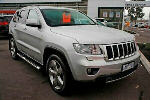 2012 Jeep Grand Cherokee WK MY2012 Limited Silver 5 Speed Sports Automatic Wagon Mill Park Whittlesea Area Preview