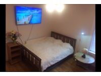 Master bedroom in 3 bed apartment. All bills and internet included.