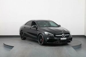 2017 Mercedes-AMG CLA45 117 MY17 4Matic Black 7 Speed Automatic Coupe