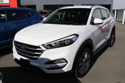 2017 Hyundai Tucson TL MY18 Active X 2WD Pure White 6 Speed Sports Automatic Wagon Underwood Logan Area Preview