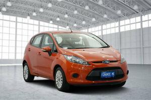 2010 Ford Fiesta WT LX Orange 5 Speed Manual Hatchback Victoria Park Victoria Park Area Preview
