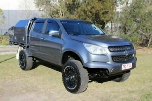 2016 Holden Colorado RG MY16 Storm Crew Cab Grey 6 Speed Manual Utility Ormeau Gold Coast North Preview