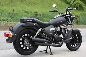 Keeway Superlight 125cc Custom Cruiser Retro Geared Motorbike Motorcycle