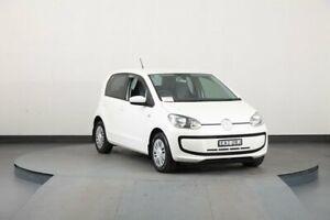 2013 Volkswagen UP! AA White 5 Speed Manual Hatchback