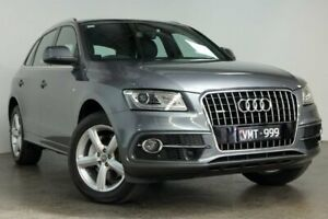 2013 Audi Q5 8R MY14 TFSI Tiptronic Quattro Grey 8 Speed Sports Automatic Wagon South Melbourne Port Phillip Preview