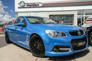 2015 Holden Ute VF MY15 SV6 Ute Storm Perfect Blue 6 Speed Manual Utility