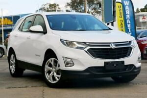 2019 Holden Equinox EQ MY18 LT FWD White 9 Speed Sports Automatic Wagon Capalaba Brisbane South East Preview