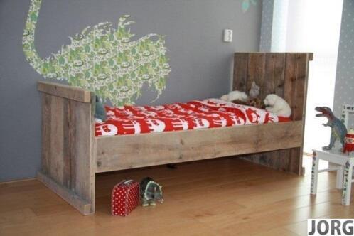Bed doe het zelf steigerhout bouwpakket bed 90x200cm for Bouwpakket steigerhout