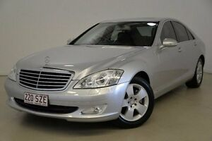 2007 Mercedes-Benz S350 W221 MY08 Silver 7 Speed Automatic Sedan Mansfield Brisbane South East Preview