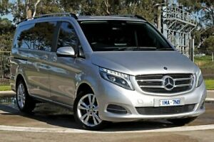 2015 Mercedes-Benz V-Class 447 V250 d Avantgarde Silver Sports Automatic Melbourne Airport Hume Area Preview