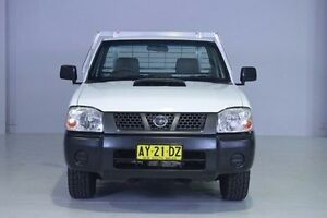 2008 Nissan Navara D22 MY2008 DX White 5 Speed Manual Cab Chassis Wadalba Wyong Area Preview