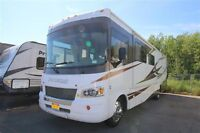 35' Class A 2 bunk Model..SMOKE and PET FREE!!  ONLY 54,800 KM
