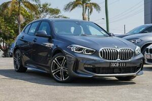 2019 BMW 1 Series F40 118i DCT M Sport Grey 7 Speed Sports Automatic Dual Clutch Hatchback Southport Gold Coast City Preview