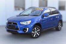 2014 Mitsubishi ASX XB MY15 LS 2WD Blue 6 Speed Constant Variable Wagon Pakenham Cardinia Area Preview
