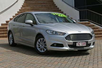 2016 Ford Mondeo MD Ambiente PwrShift Moondust Silver 6 Speed Sports Automatic Dual Clutch Hatchback