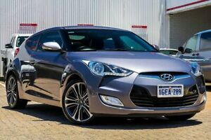 2016 Hyundai Veloster FS5 Series II Coupe D-CT Silver 6 Speed Sports Automatic Dual Clutch Hatchback