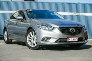 2013 Mazda 6 GJ1021 Touring SKYACTIV-Drive Silver 6 Speed Sports Automatic Sedan Tweed Heads Tweed Heads Area Preview