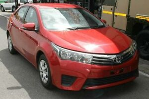 2015 Toyota Corolla ZRE172R Ascent S-CVT Red 7 Speed Constant Variable Sedan Bungalow Cairns City Preview