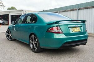 2013 Ford Falcon FG MkII XR6 Turbo Green 6 Speed Sports Automatic Sedan Greenacre Bankstown Area Preview
