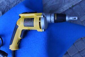 DEWALT Drywall Screw Gun 4000 RPM Variable Speed Reversible Scru