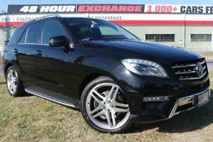 2013 Mercedes-Benz ML350 W166 BlueTEC 7G-Tronic + Black 7 Speed Sports Automatic Wagon Eagle Farm Brisbane North East Preview