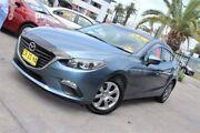 2014 Mazda 3 BM Neo Grey 6 Speed Manual Sedan Hamilton Newcastle Area Preview