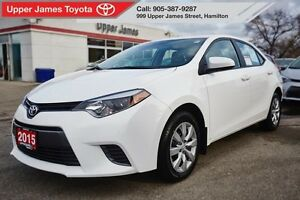 2015 Toyota Corolla LE - Excellent condition!