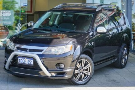 2009 Mitsubishi Outlander ZG MY09 VR Black 6 Speed Sports Automatic Wagon Myaree Melville Area Preview