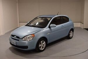 2007 Hyundai Accent MC Blue 5 Speed Manual Hatchback Invermay Launceston Area Preview