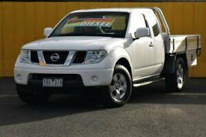 2011 Nissan Navara D40 Series 4 ST-X (4x4) White 6 Speed Manual Dual Cab Pick-up Cheltenham Kingston Area Preview