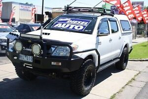 2008 Toyota Hilux KUN26R MY08 SR White 4 Speed Automatic Utility Altona North Hobsons Bay Area Preview