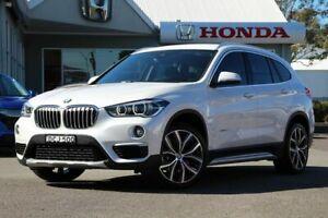 2016 BMW X1 F48 xDrive25i Steptronic AWD White 8 Speed Sports Automatic Wagon Port Macquarie Port Macquarie City Preview