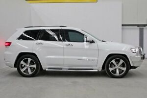 2014 Jeep Grand Cherokee WK MY2014 Overland White 8 Speed Sports Automatic Wagon Seven Hills Blacktown Area Preview