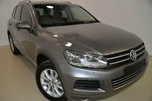 2011 Volkswagen Touareg 7P MY11 V6 TDI Tiptronic 4MOTION Grey 8 Speed Sports Automatic Wagon Mansfield Brisbane South East Preview