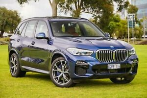 2018 BMW X5 G05 xDrive30d Steptronic Blue 8 Speed Sports Automatic Wagon Burswood Victoria Park Area Preview