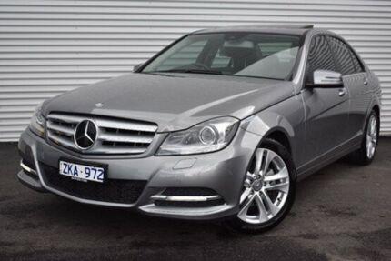 2012 Mercedes-Benz C250 CDI W204 MY13 BlueEFFICIENCY 7G-Tronic + Avantgarde Grey 7 Speed