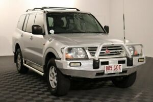 2002 Mitsubishi Pajero NM MY2002 Commonwealth Games Edition GLX Silver 5 Speed Sports Automatic Acacia Ridge Brisbane South West Preview
